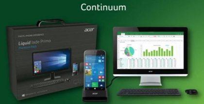 Acer Liquid Jade Primo Continuum