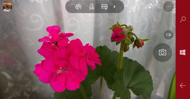 HDR force on windows camera