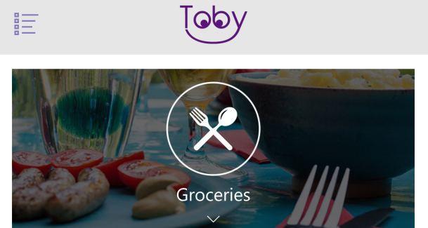 Toby Shopping reminder