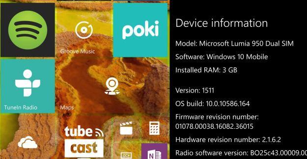 Lumia 950 Firmware
