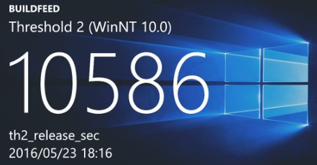 Build 10586.416 for Mobile and Desktop could be released to Insiders soon