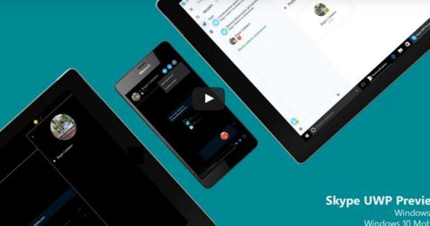 Skype UWP app for Windows 10 Mobile