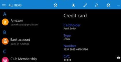 Enpass for Windows 10