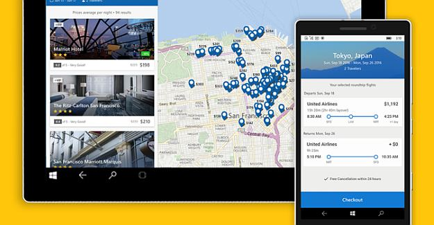 Expedia Universal App Now Available For Windows 10