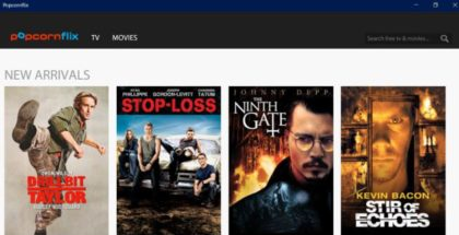 Popcornflix app windows 10