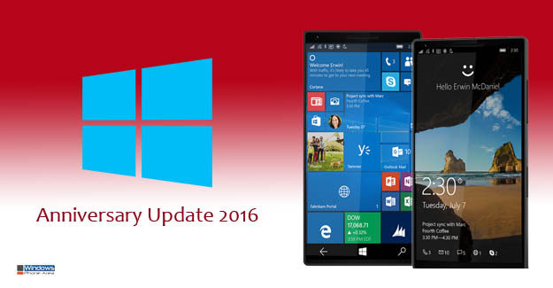 Windows Mobile for 10: Is the Anniversary Update for Mobile Phones