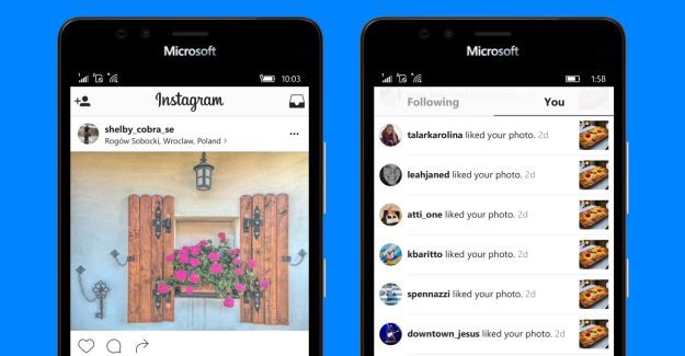 550f910760399 Latest Instagram update adds improvements and Continuum support