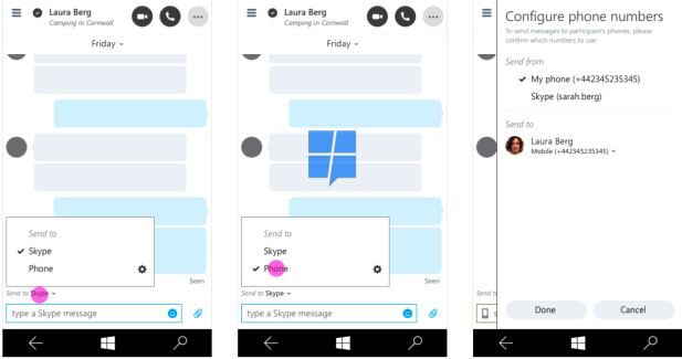 Skype Universal with integrated SMS messaging revealed in screenshots