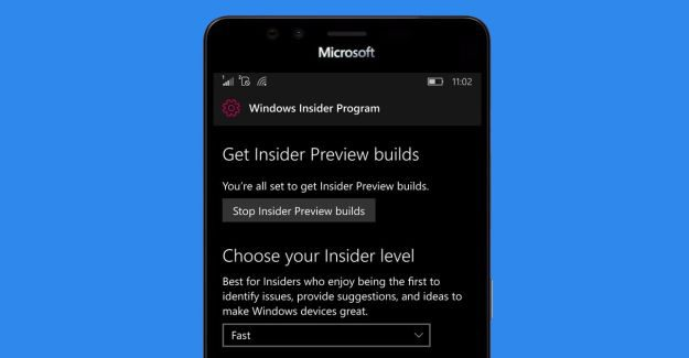 Windows 10 Mobile in the Fast Ring goes to build 15223