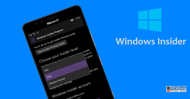 Now it's time to leave the Windows Insider Fast Ring