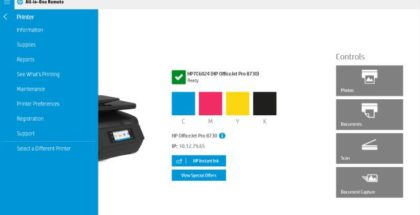 HP Printer all in one app
