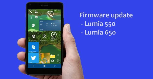 Firmware update Lumia 650 550