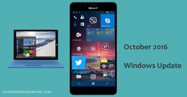 Windows Update 2016 October