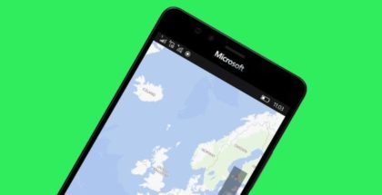 Windows Maps app phone mobile 10 Microsoft