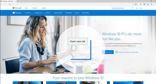 How to use Mouse Gestures in Windows 10 with Microsoft Edge