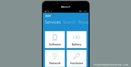 B2x app lumia