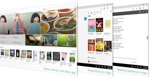 Windows Store Edge browser