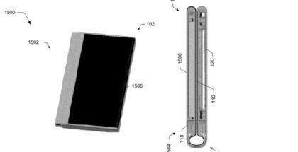 Microsoft patent foldable phone