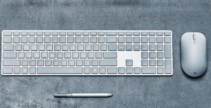 Surface mouse and keyboard