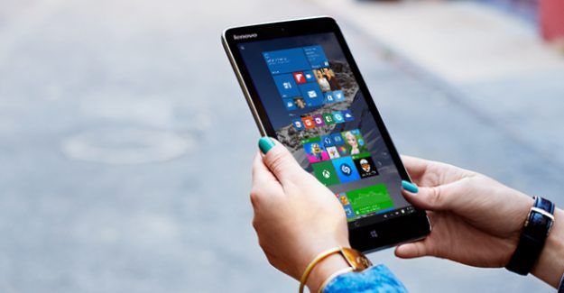 Lenovo Miix 2 Windows 10 tablet