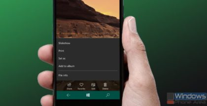 microsoft photos app phone