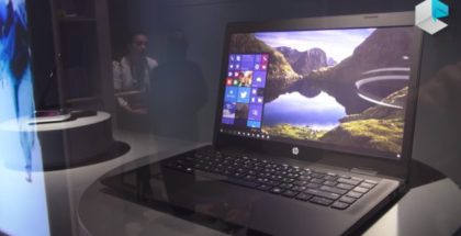 HP Lap Dock 2017 prototype