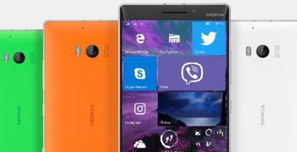 Windows 10 Mobile Nokia Lumia 930