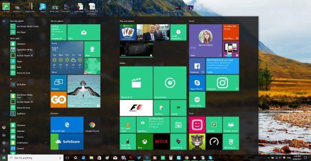 windows 10 pc desktop