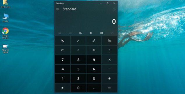 Windows Calculator app