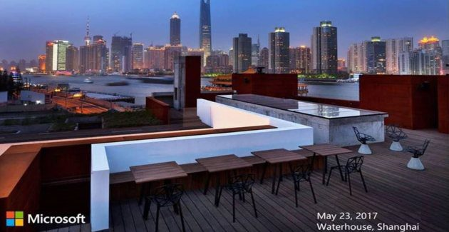 The media event in China will be focused on Surface 23 May event Microsoft Surface