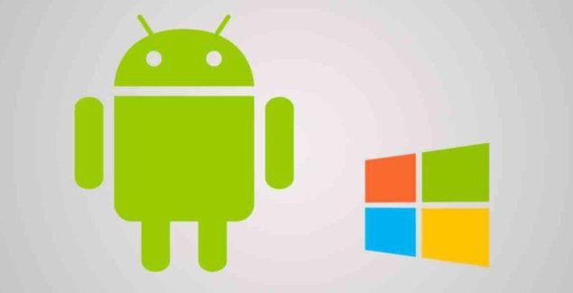 Windows android logo