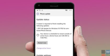 June 2017 cumulative update available with builds 15063.413 and 15063.414