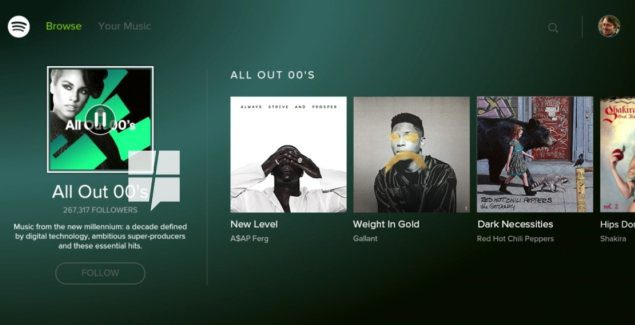 Spotify for Xbox One launch imminent
