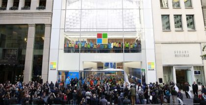 Microsoft Flagship Store on Fifth Ave
