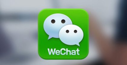 WeChat app logo messaging app