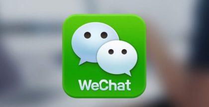 WeChat app logo messaging app