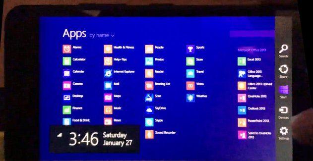 Windows 8.1 RT on Lumia 640 XL