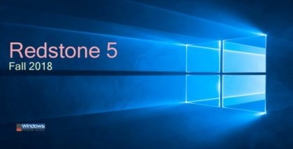Redstone 5 update 1809 Windows 10 logo
