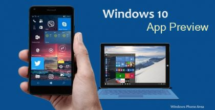 windows 10 app preview