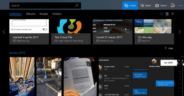 Timeline, new gallery and more coming to Microsoft Photos